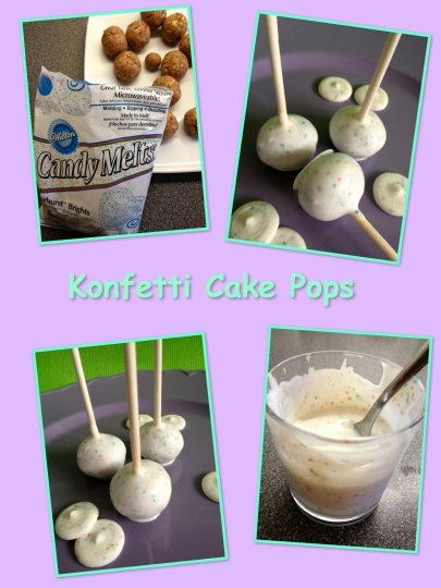 Schnin's Kitchen: Konfetti Cake Pops