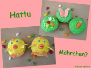 Schnin's Kitchen: Kunterbunte Oster-Cupcakes