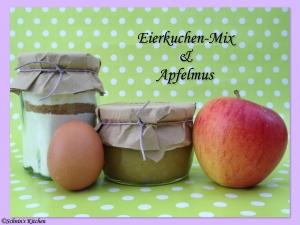 Schnin's Kitchen: Eierkuchen-Mix & leckeres Apfelmus