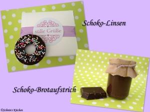 Schnin's Kitchen: Schoko-Linsen & Schoko-Brotaufstrich