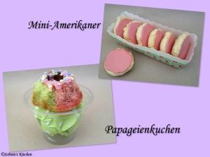 Schnin's Kitchen: Papageienkuchen & Mini-Amerikaner