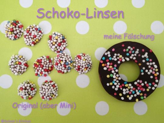Schnin's Kitchen: Schoko-Linsen