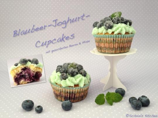 Schnin's Kitchen: Blaubeer-Joghurt-Cupcakes