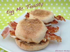 Schnin's Kitchen: Egg Mc Toasty