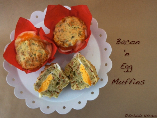 Bacon 'n Egg Muffins