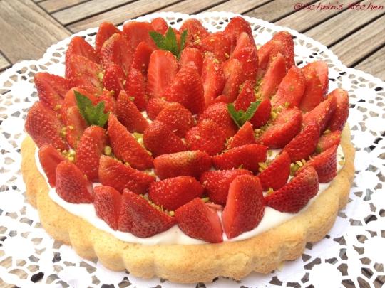 Schnin's Kitchen: Erdbeertorte mit Mascarpone