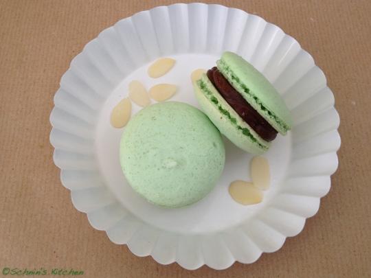 Schnin's Kitchen: Macarons mit Schokoladen-Ganache