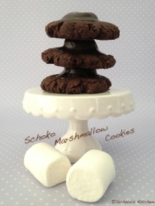 Schnin's Kitchen: Schoko-Marshmallow-Cookies