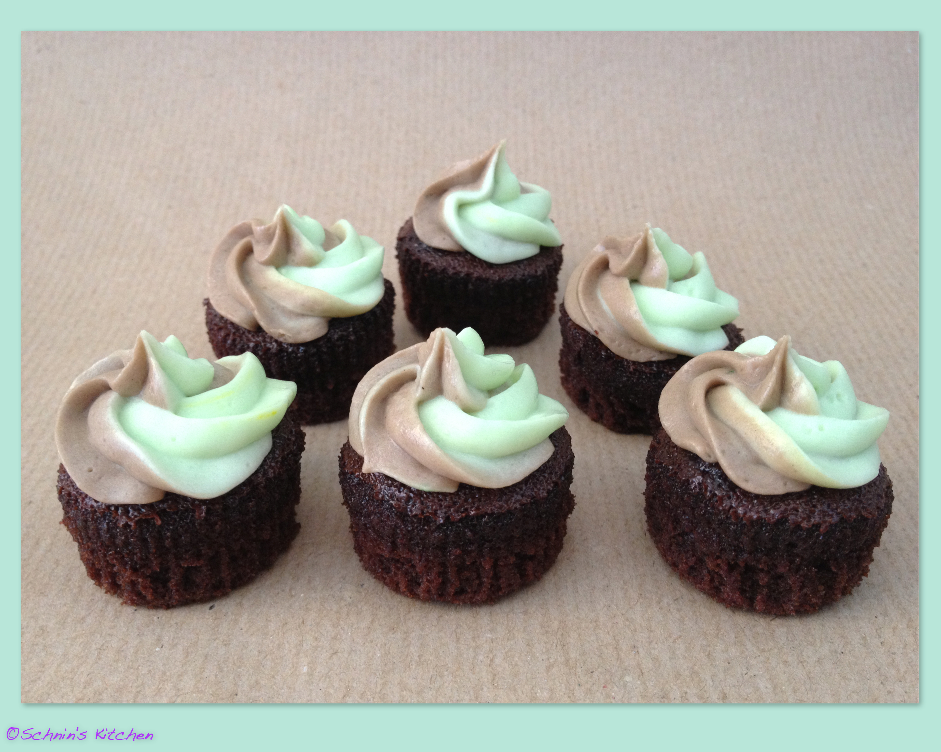 Chocolate Mint Cupcakes Recipes — Dishmaps