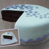 Fondant-Schoko-Torte - und eine Premiere