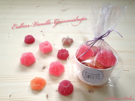 Schnin's Kitchen: Erdbeer-Vanille-Gummidrops