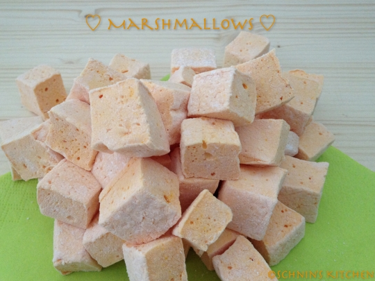 Schnin's Kitchen: Halloween Marshmallows