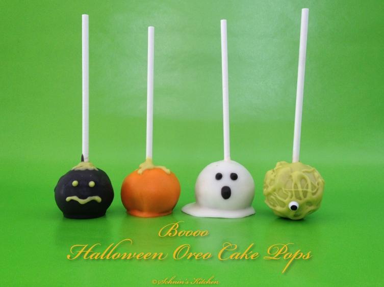 Halloween Oreo Cake Pops