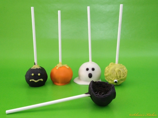 Schnin's Kitchen: Halloween Oreo Cake Pops