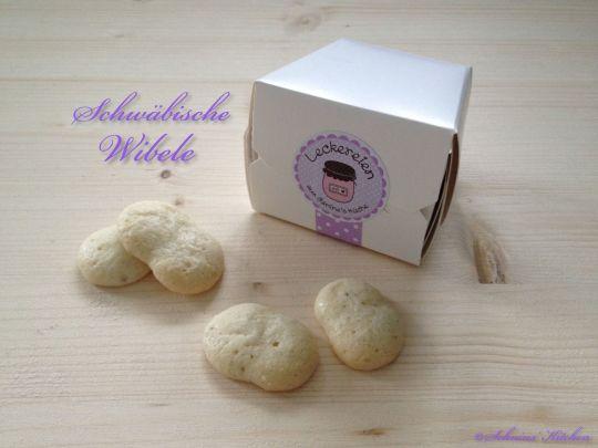 Schnin's Kitchen: Süße Postkette mit schwäbischen Wibele