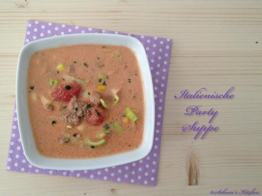 Schnin's Kitchen: Italienische Partysuppe