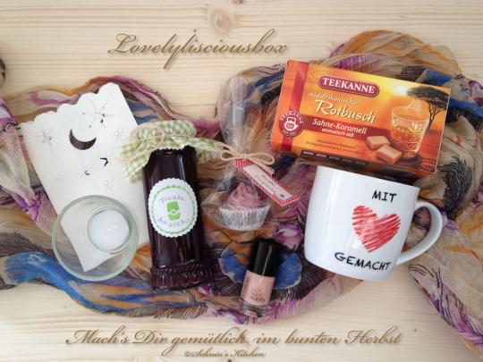 Schnin's Kitchen: Mach's Dir gemütlich im bunten Herbst - Lovelylisciousbox