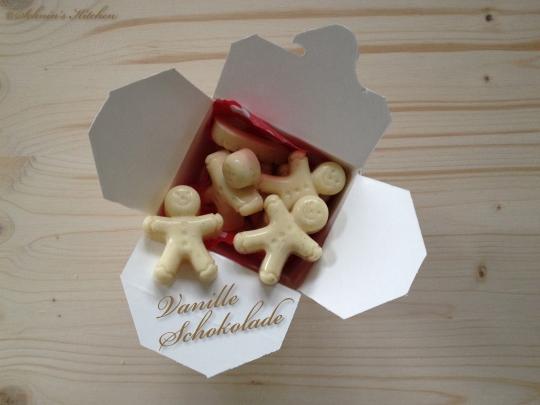 Schnin's Kitchen: PAMK - Lasst uns froh & lecker sein (Vanille-Schokoladen-Männchen)