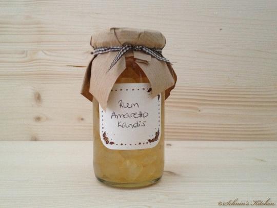 Schnin's Kitchen: PAMK - Lasst uns froh & lecker sein (Rum-Amaretto-Kandis)