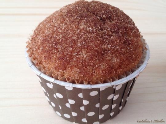frustbacken zucker zimt muffins mit nutellakern schnin. Black Bedroom Furniture Sets. Home Design Ideas