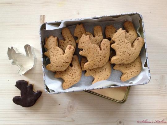 Schnin's Kitchen: Adventswichteln: 1. Lebkuchen