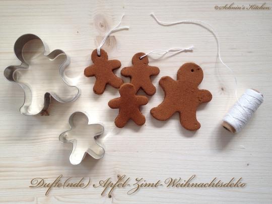 Schnin's Kitchen: Adventswichteln: 3. Dufte(nde) Apfel-Zimt-Weihnachtsdeko