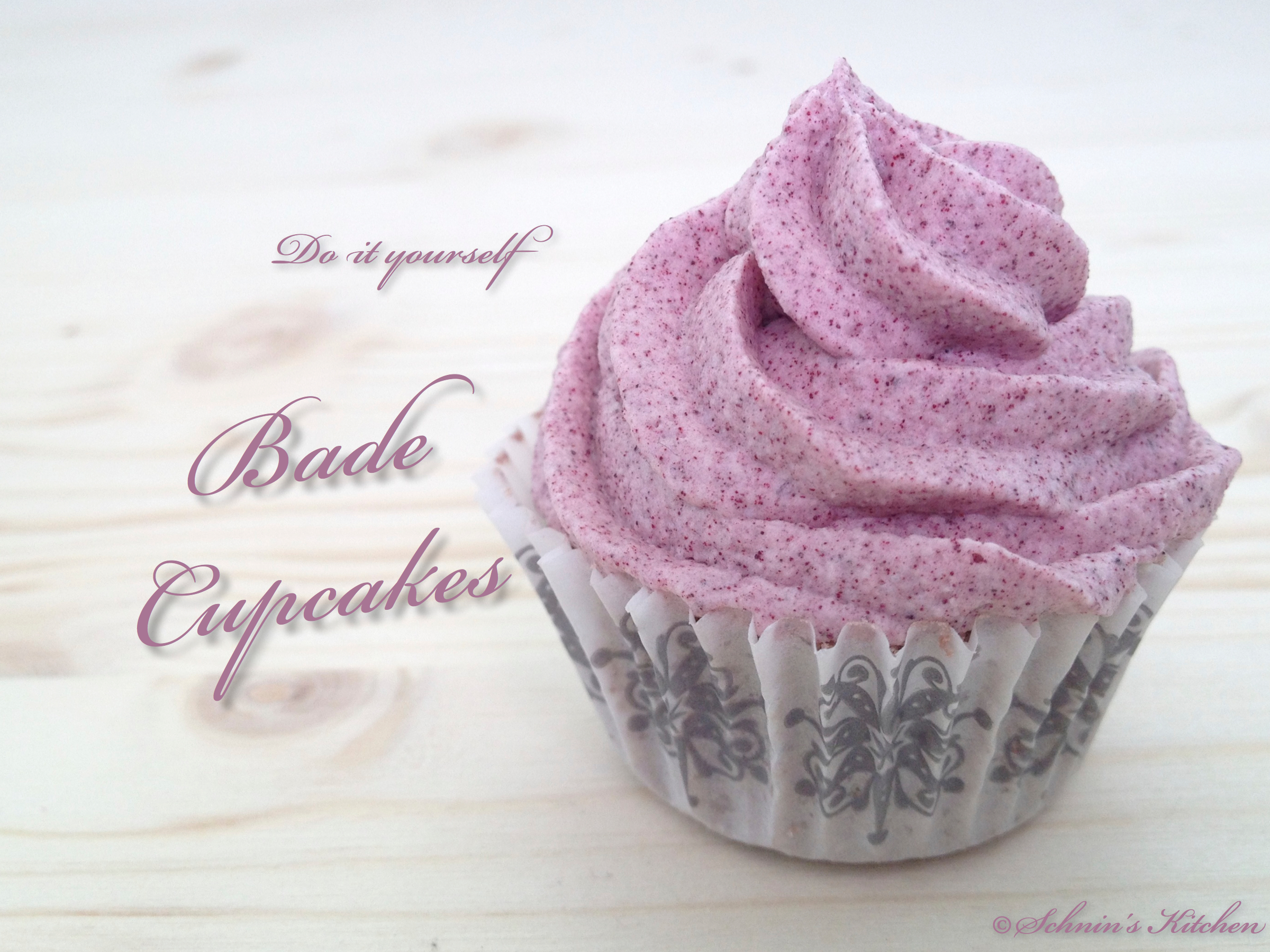 Badebomben-Cupcakes