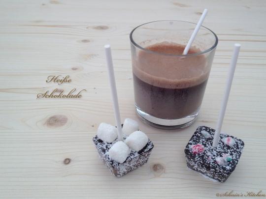 Schnin's Kitchen: Heiße Weihnachts-Schokolade am Stiel