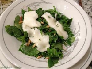 Schnins Kitchen: {Kochkurs} Kochen mit Honig: Geschmolzener Ziegenkäse mit Thymianhonig & Rucola