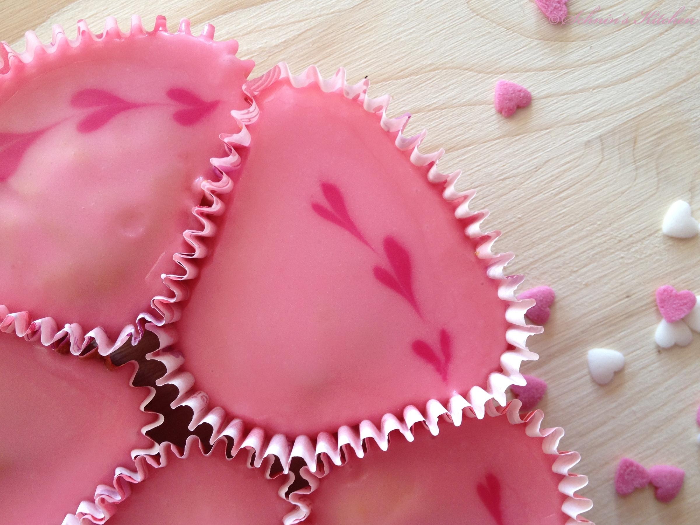 Schninu0027s Kitchen: Cupcake Herz Kuchen