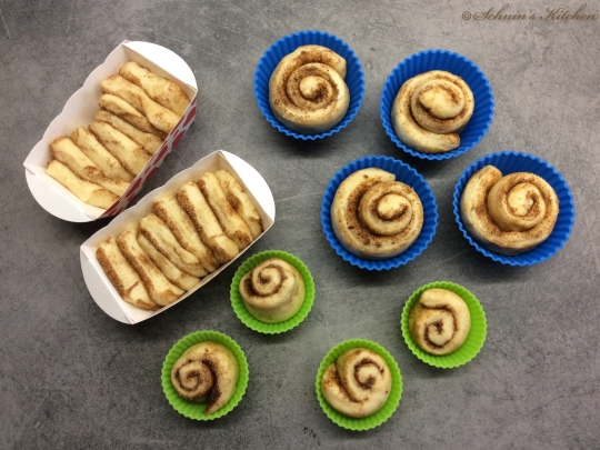 Schnin's Kitchen: Zimtschnecken & Zimt-Zupfkuchen