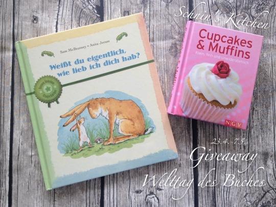 Schnin's Kitchen: Giveaway zum Welttag des Buches