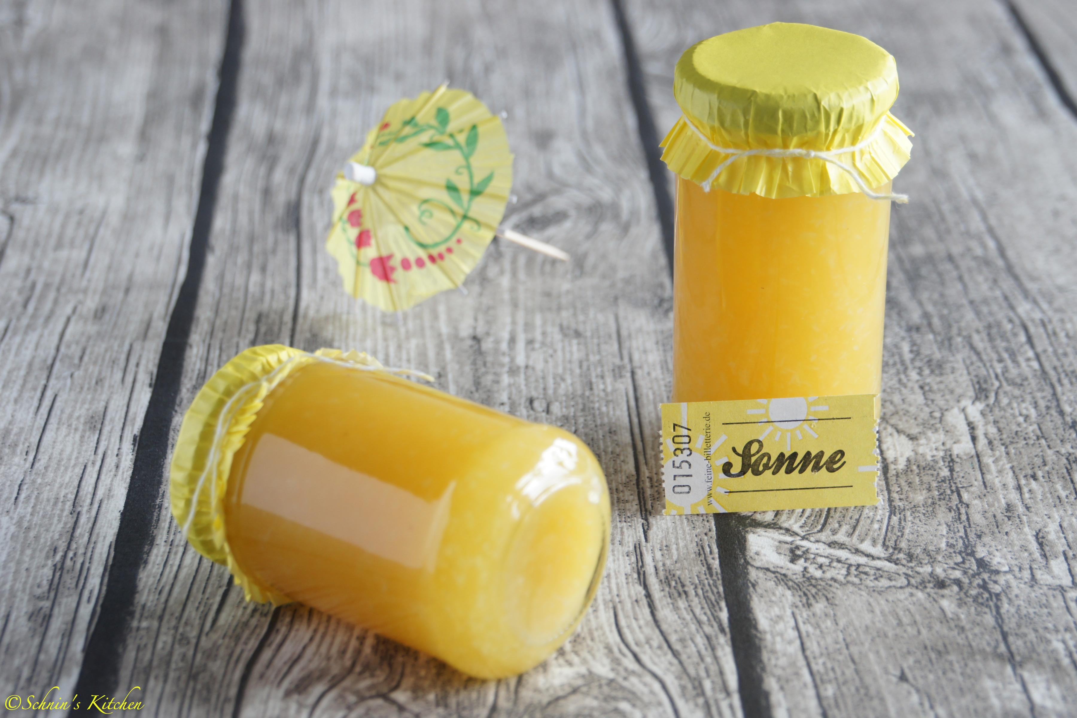 Schnin's Kitchen: Pina Colade Marmelade (Ananas-Kokos)