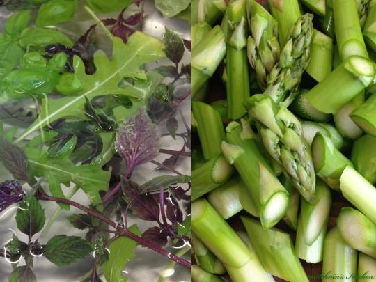 Schnin's Kitchen: Kräuter-Risotto mit grünem Spargel