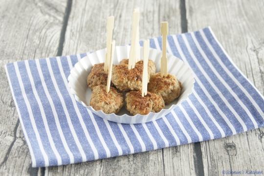 Schnin's Kitchen: Mini-Frikadellen