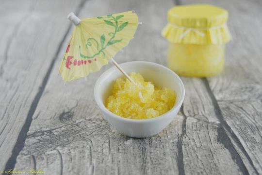 Schnin's Kitchen: Pina Colada Dusch-Peeling - Kokos trifft Ananas