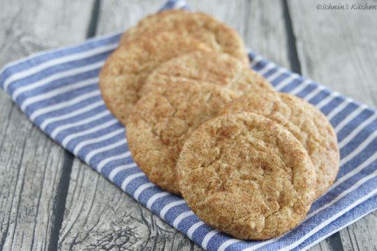 Schnin's Kitchen: {Keks-Liebe} Snickerdoodle Cookies