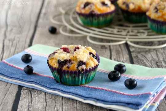 Schnin's Kitchen: Blaubeer-Butter-Streusel-Muffins