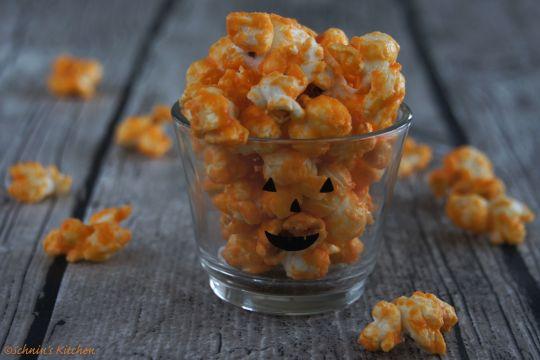 Schnin's Kitchen: Süßes oder Saures: Halloween-Popcorn & ein klitzekleines DIY